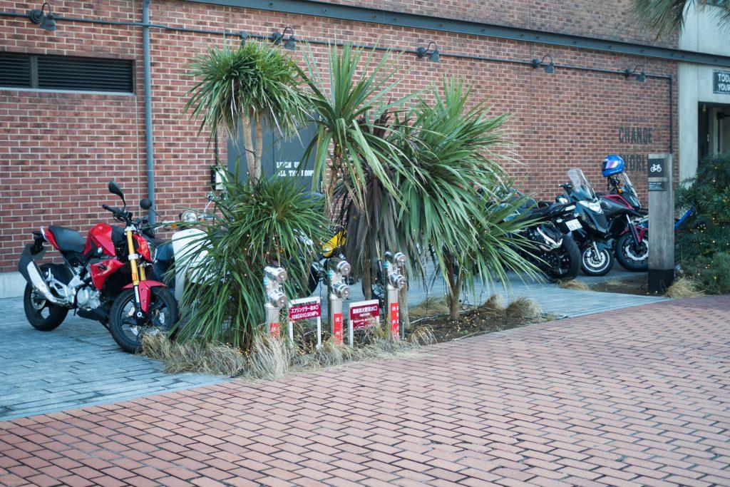 マリンアンドウォーク横浜の駐輪場