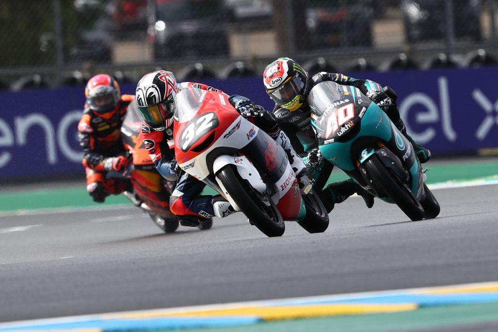 松山選手にとって初の世界選手権は、難しいコンディションでのレースとなった