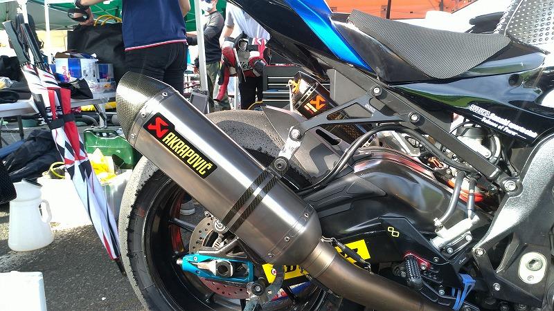 筑波ロードレース選手権 TC-Formula/ST1000 参加車両のマフラーメーカー